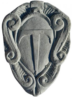 Tau riders stone coat of arms