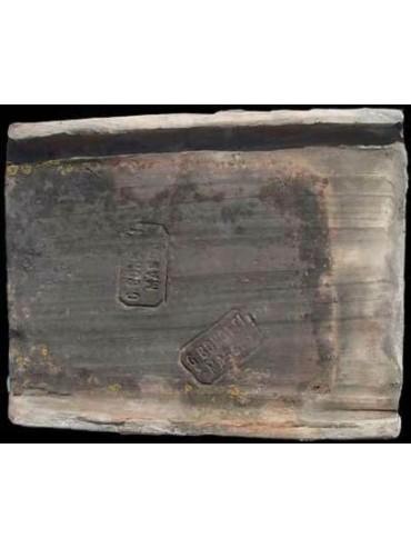 Terracotta ridge tiles