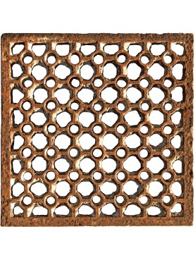 cast-iron grid no painted
