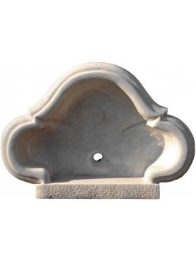 lavandino in marmo trilobato
