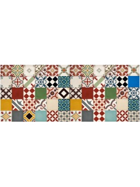 Patchwork Mixed Cement Tiles Large