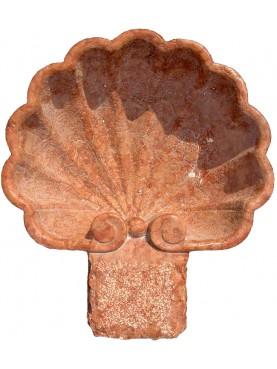 acquasantiera marmo rosso di Verona