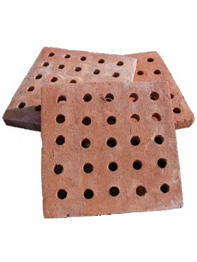 Ventilated bricks for ventilation