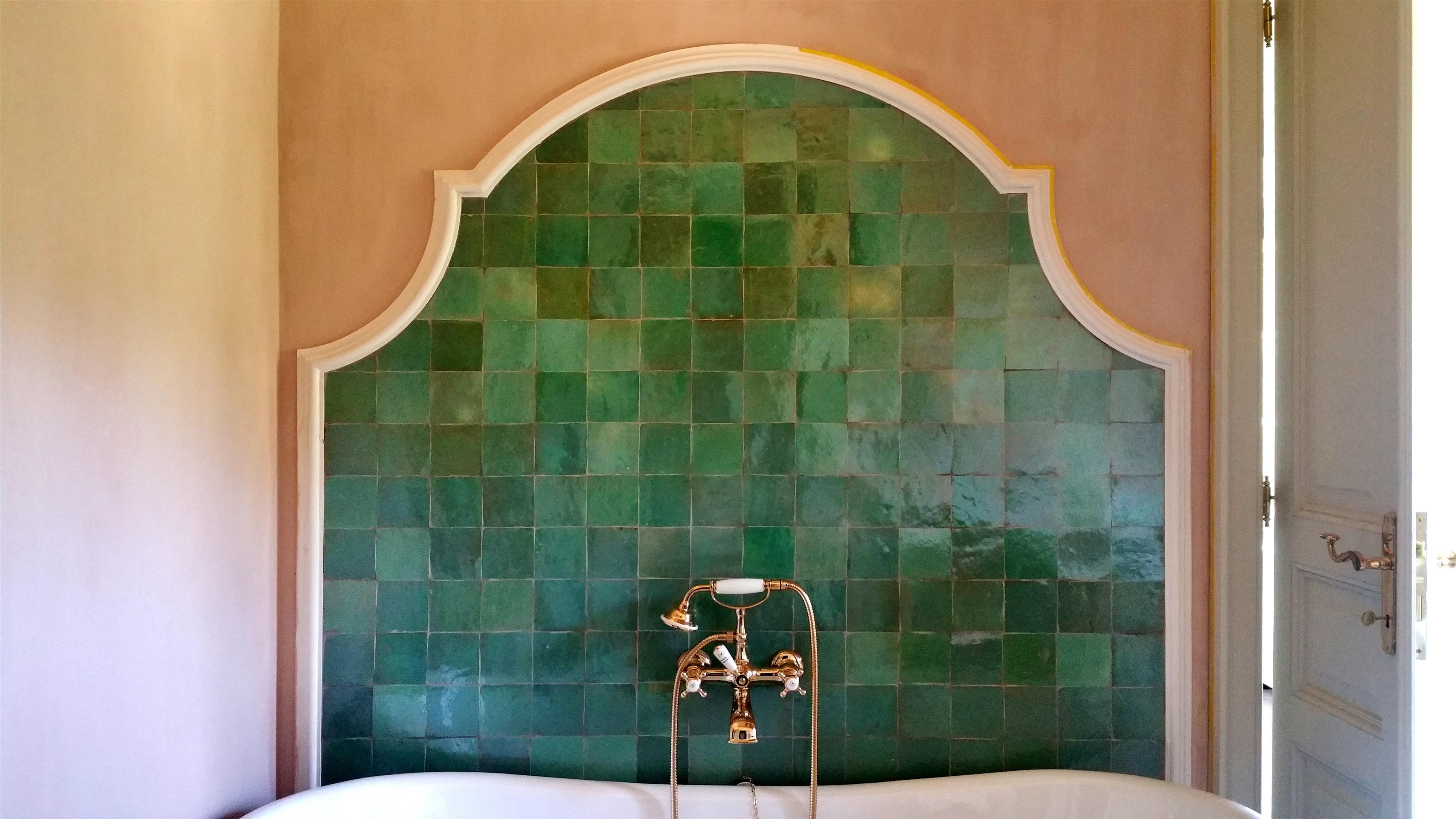 Piastrelle berbere colore verde marocchine codice articolo