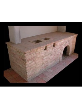 Fireplace base for Kitchen