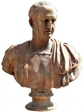 Cicero, terracotta bust