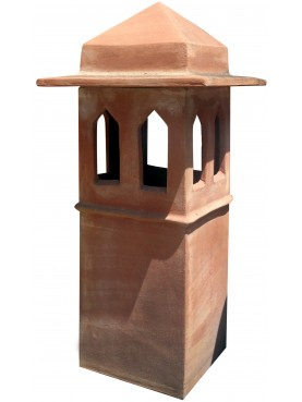 Large Tuscan chimney pot Øint.25cms