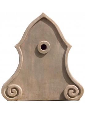 Terracotta back splash Impruneta clay