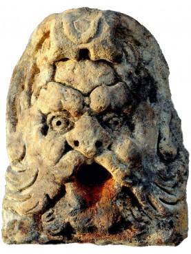 Stone garden mask