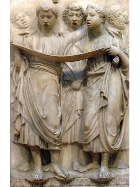 Original Luca della Robbia bas-relief