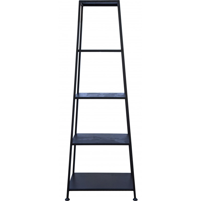 Etagere piramidale in ferro battuto - libreria e portavasi - Recuperando