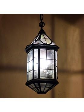 Grande lanterna Italiana ottagonale in ferro - Palazzo Venezia Roma