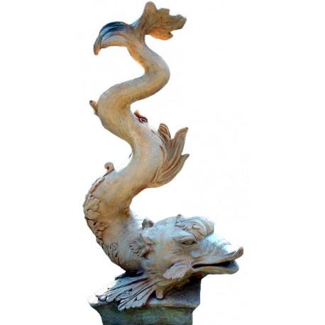 tritone dello scultore Silvano Porcinai realizzato su ispirazione del Tritone del Giardino di Boboli