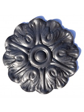 Castiron rosette decoration - iron doors, gates and greenhouses
