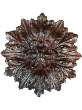 Great Cast iron rosette decoration