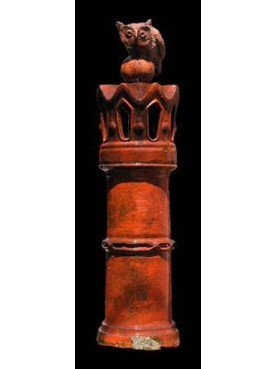 Ligurian Terracotta Chimney pot