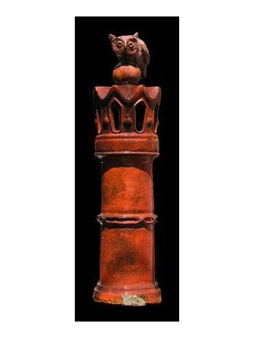 Ligurian Terracotta Chimney pot Øint.22cms