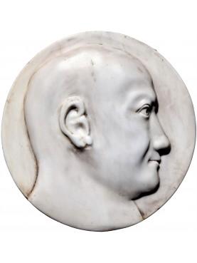 Scipio Africanus marble roundel roman empire