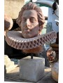 Cosimo II de' Medici terracotta Head