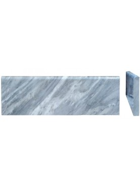 Grey Marble Bardiglio baseboards