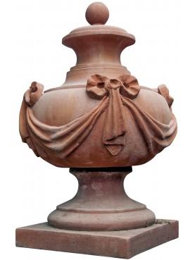 Terracotta vase - Impruneta Florence