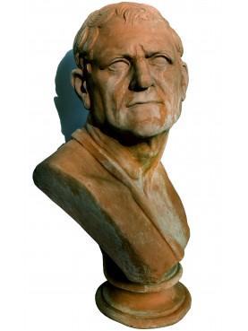 Arato di Sicione erma in terracotta busto