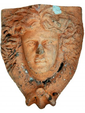 Ancient Terracotta mask from Tuscany