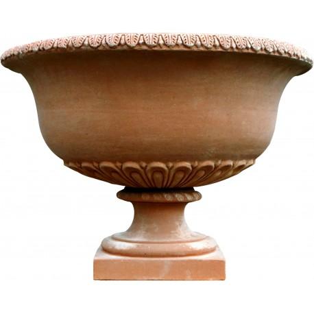 Grande vaso bacile rotondo con grande capacità terracotta