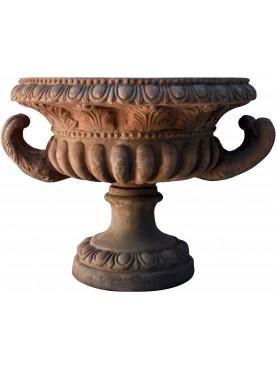 Coppa svasata con le Corna terracotta