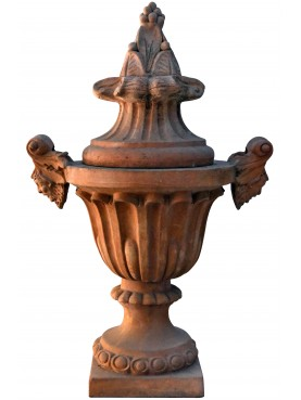 Reproduction of the terracotta vase of Palazzo Da Cepparello - Florence