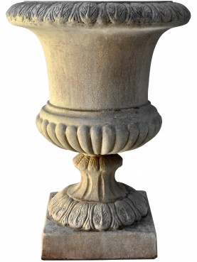 Terracotta Medici's vase ornamental calix