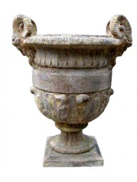Vaso della manifattura di Signa anse terracotta