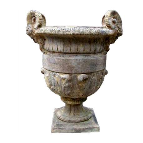 Manifattura di Signa vase terracotta ornamental - Recuperando