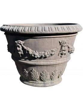 Tuscan CITRUS Vase Ø86cms IMPRUNETA TERRACOTTA