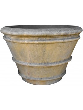 Conca da Limoni Toscana Ø 65 cm terracotta vaso