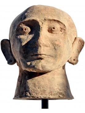 canopo etrusco riproduzione in terracotta