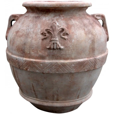 Olive oli jares H.90cms - terracotta made in Italy