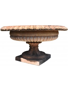 Great Garden Gate terracotta vase