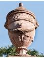 """Riproduzione di un vaso impero Firentino da """"facciata"""""""