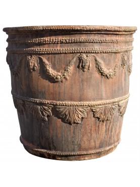 """Riproduzione del Vaso """"Testone"""" del settecento Napoletano"""