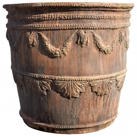 "Repro of Neapolitan vase - eighteenth century ""Testone"""