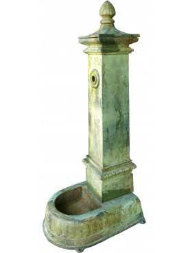 Milan city italian standpipe castiron fountain