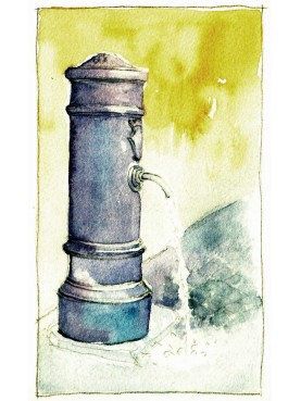 Town Stand pipe fountain - castiron