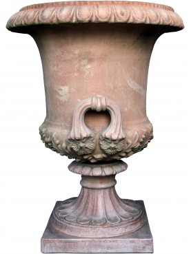 Great Renaissance vase with terracotta handles