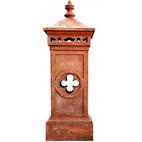 Large Tuscan terracotta chimney pot