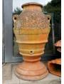 The 1700's original antique olive oil jare