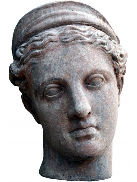 Diana of Versailles - Artemis terracotta head