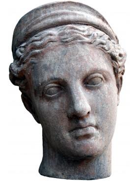 Testa di Era in terracotta - Giunone - Musei Vaticani