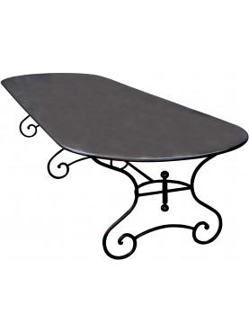 Tavolo in ferro-battuto da 4 m.