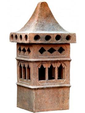 Sardinian terracotta Chimney Øint.24cms